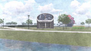 De bouw van de Tiny Church is gestart 2019 en voltooid in 2020