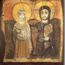 De icoon van Jezus' vriendschap